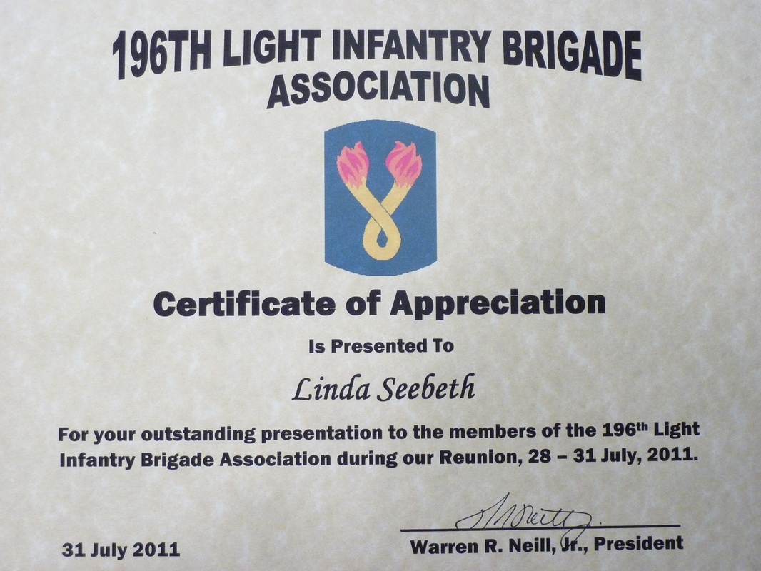 196th light infantry brigade reunion 2019